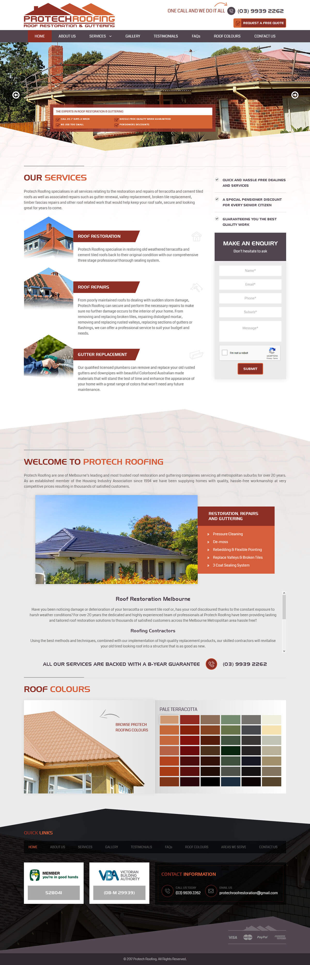 Pro-tech roofing