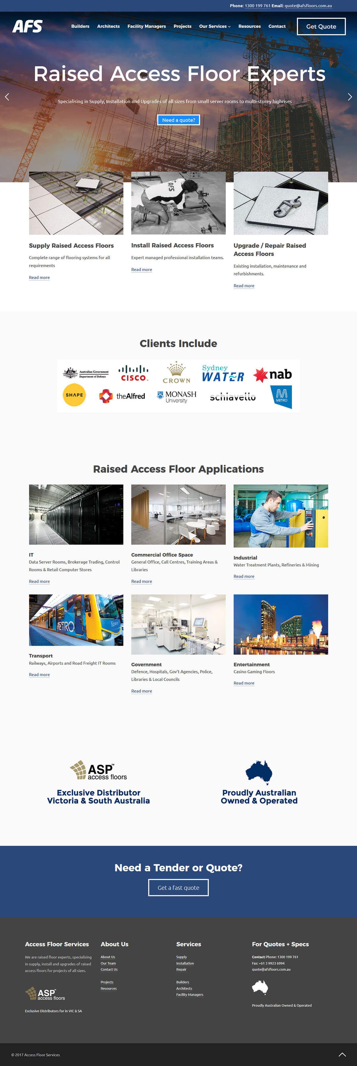 Access Floor Services